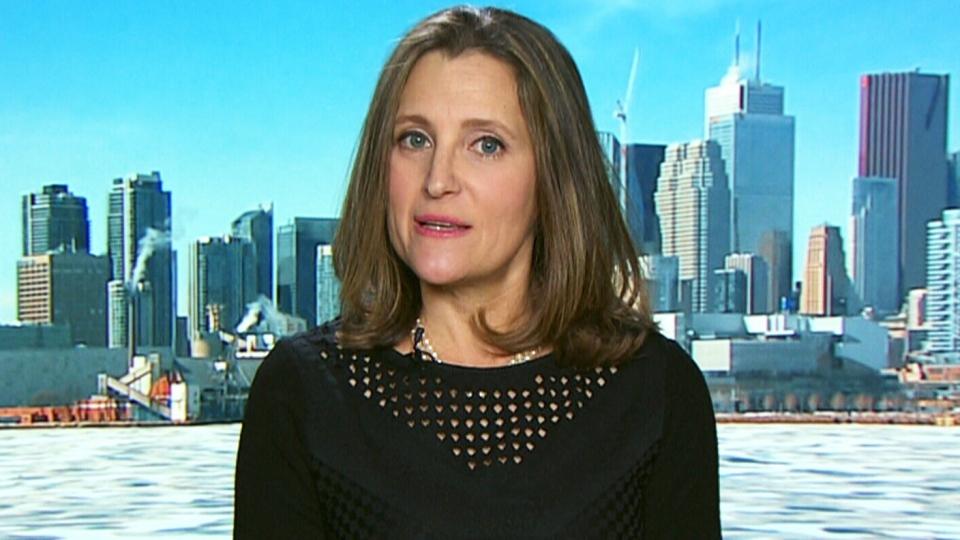 CTV QP: Invite was 'honest mistake': Freeland