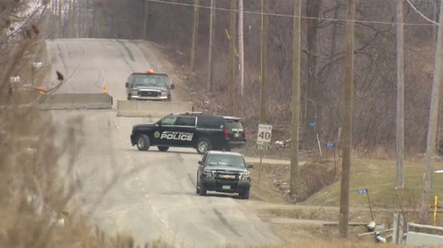 Cayuga Road was closed following protests that began last Sunday. Protesters said they had issues with the Cayuga Road home, claiming it hosts drug activity.