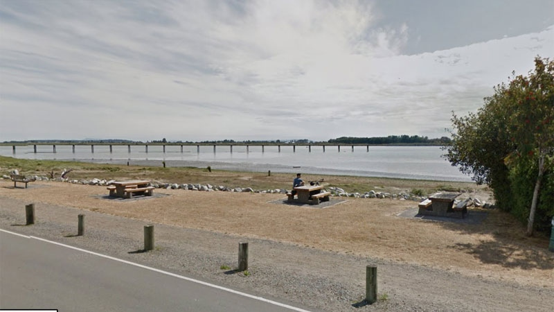 The man was pulled from the water in the 7000 block of Dyke Road in Richmond. (Google Maps)