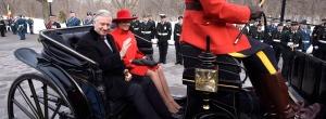 Belgian royals in canada