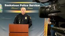 Saskatoon police Supt. Dave Haye
