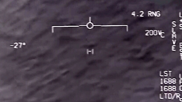 Declassified DoD video shows U S  Navy jet encounter with