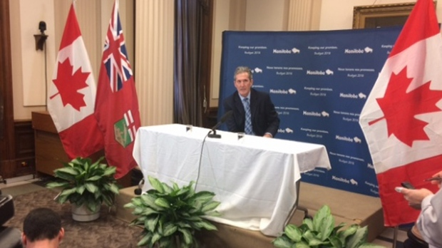 Brian Pallister, March 12, 2018. (Nolan Kowal/CTV News)