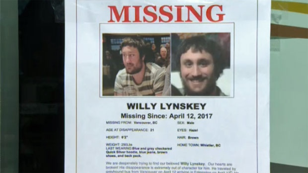 Willy Lynskey's missing poster