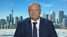 Newly minted PC party leader Doug Ford speaks to CTV News Toronto on March 12, 2018.