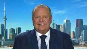 Doug Ford speaks to CTV's Power Play, on Monday, March 12, 2018.