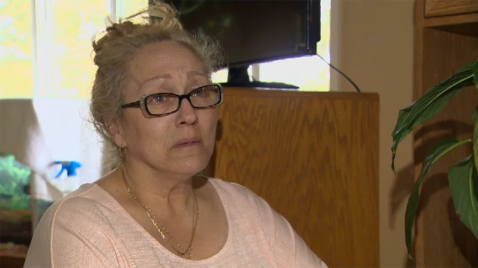 Darlene Hogue says her son Joe Gauthier, 35, told her he loved her Friday night and that he would see her tomorrow. Those were the last words she'd ever hear from her son, who was found dead just hours later. March 12, 2018. (CTV Vancouver Island)