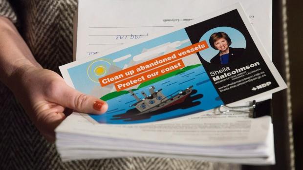 NDP MP Sheila Malcolmson