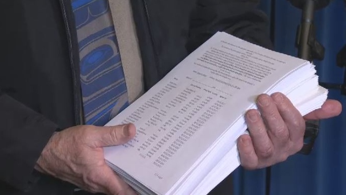 More than 16,000 people signed a petition asking B.C.'s Ministry of Transportation to take back control of BC Ferries as it did pre-2003. March 12, 2018. (CTV Vancouver Island)