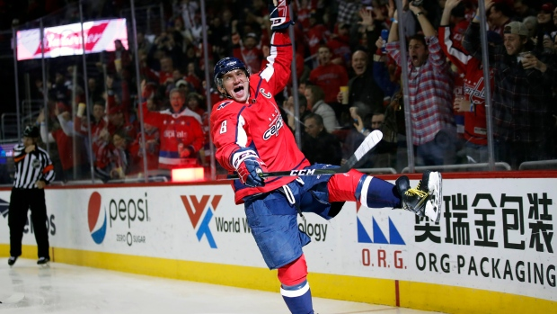 Ovechkin in 600 club as Capitals win