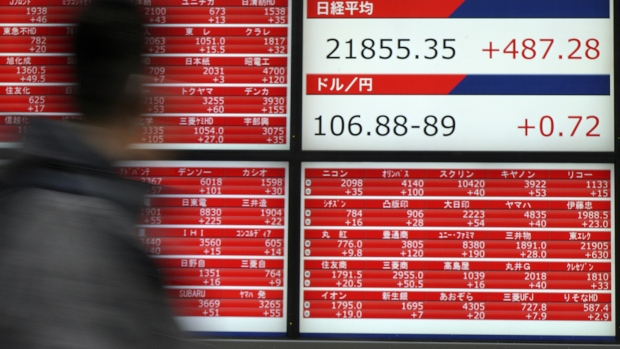 Markets mixed over tariff fears