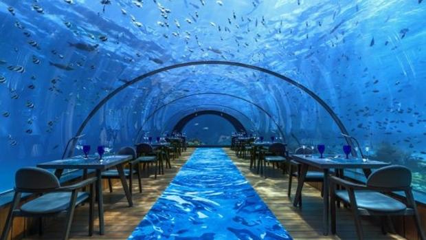 Hurawalhi Maldives' 5.8 undersea restaurant