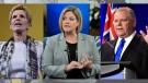 Ontario election: Wynne, Horwath and Ford