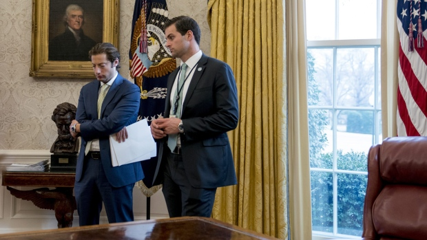 Trump's personal aide escorted from White House | CTV News