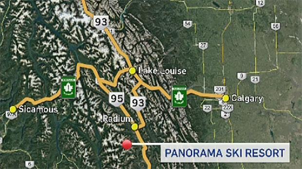 Panorama, skier dies, skier hits tree, Panorama Mo