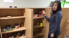 University of Windsor food bank Angela Zhu