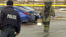 Bomb squad in Region of Peel
