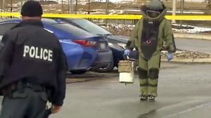 Bomb squad in Region of Peel