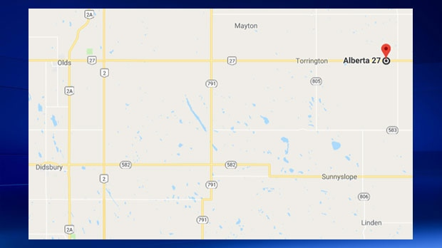 A 17-year-old boy was killed in a highway crash approximately 10 kilometres east of Torrington on Tuesday, March 13, 2018 (GoogleMaps)