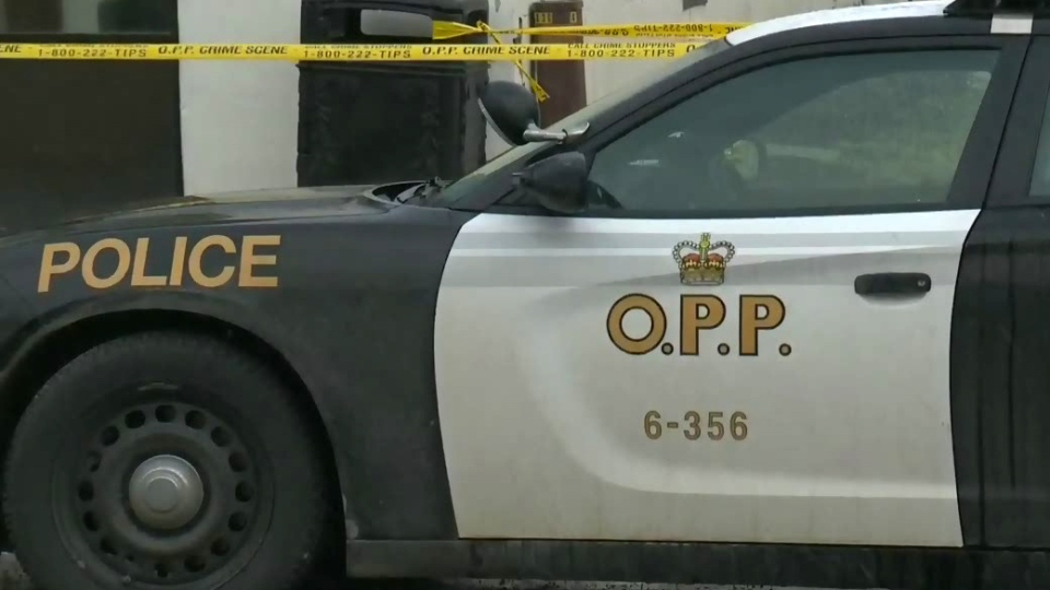 An OPP cruiser is seen in this undated file photo.