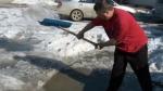 Lethbridge - snow melts