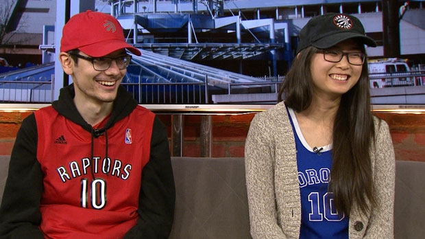 "Aleks Sanjevic and Judith Wang sat down with CP24 to discuss their inititative called ""Don't Worry We Got You"" in support of Toronto Raptors' Demar DeRozan."