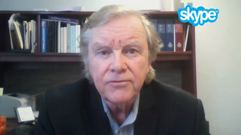 Gordon Wilson speaks to CTV News via video chat on Tuesday, March 13, 2018.