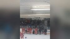 Fans brawl after senior hockey game in Turtleford