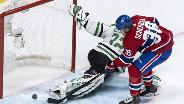 Canadiens snap losing streak with win over Stars