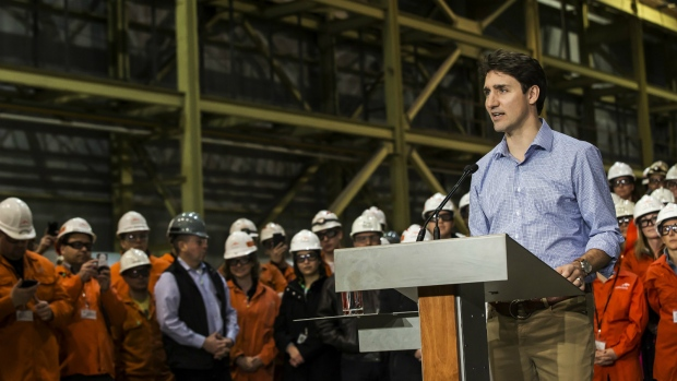 Trudeau offers support for steel workers