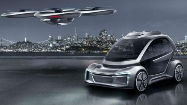 Pop.Up Next flying car concept