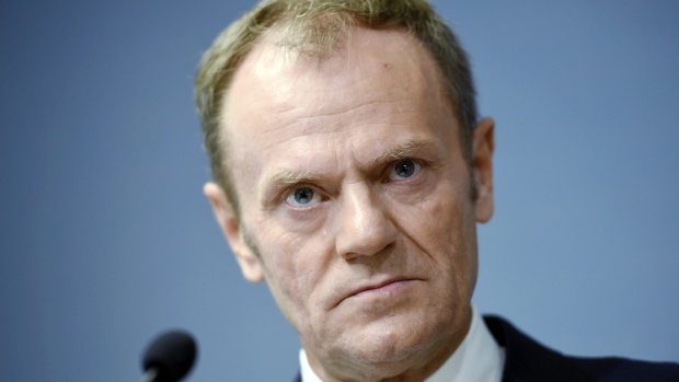 European Council President Donald Tusk