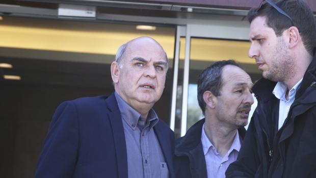 Hellenic Football Federation's Vagelis Grammenos