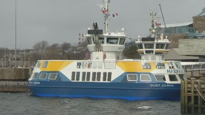 The Vincent Coleman ferry begins service in Halifax on March 14, 2018.