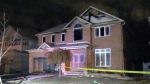 Fire tears through home, causing major damage
