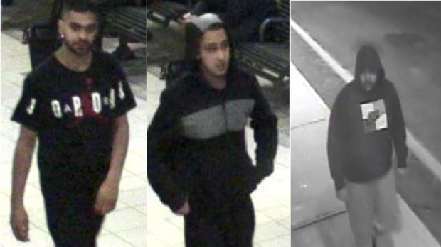 Suspects in Mississauga assault