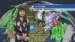 9-year-old Jenna sees warmer weather coming