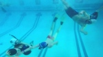 Underwater football a '3 dimensional sport'