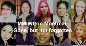 MMIWG in Montreal