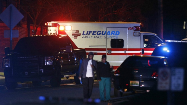 Two people injured after shooting at U.S. hospital