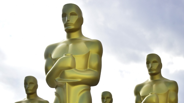 Some 26.5 million people in the United States watched the Oscars last week, a drop of nearly 20 percent from just a year earlier. (FREDERIC J. BROWN / AFP)