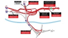 Turcot construction closures for St. Patrick's Day weekend
