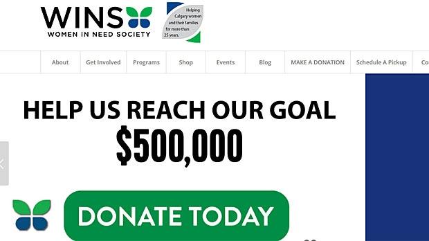 WINS donation campaign