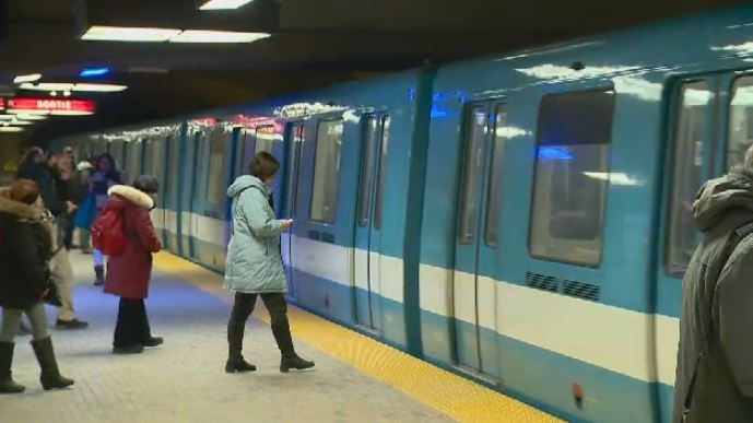 Part of Montreal Metro orange line shut down for water infiltration