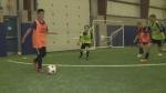 Students spend March Break honing soccer skills