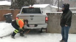 Icy roads creating havoc for tow trucks