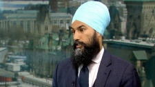 Jagmeet Singh. (CTV News)