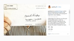 A photo of the envelope sent to Oprah Winfrey, seen on Gayle King's Instagram. (source: Instagram / @gayleking)