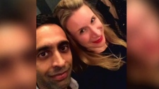 Mohammed Shamji and Elana Fric Shamji, shown in an undated photo.