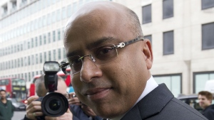 Sanjeev Gupta is pictured here in this file photo. (JUSTIN TALLIS / AFP)